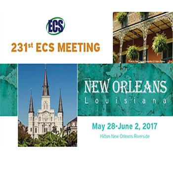 231st ECS Meeting – New Orleans, LA