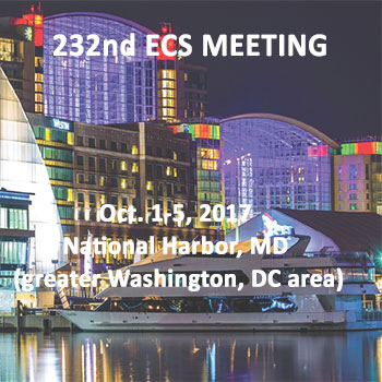 The Electrochemical Society 232nd ECS Meeting