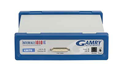 The Gamry Interface 1010E Full featured potentiostat