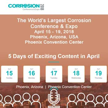 NACE Corrosion 2018 Conference
