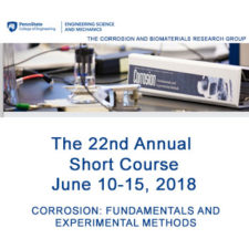 Penn State Corrosion Short Course