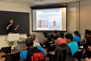 Gamry;'s talks on Corrosion Studies to High School Students at the University of Pennsylvania
