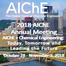 2018 AIChE Annual Meeting
