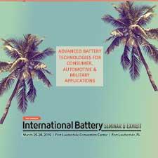 International Battery Seminar 2019