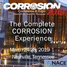 NACE Corrosion 2019