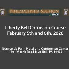 Liberty Bell Corrosion Course